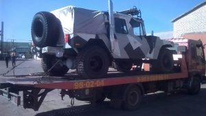 Услуги эвакуатора в Волгограде